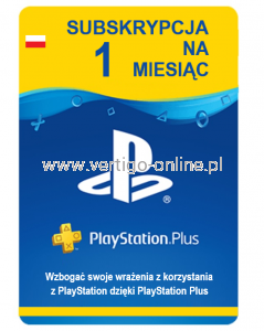 Playstation Plus - 1 miesiąc PSN