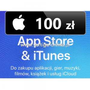 Apple Store iTunes 100 zł