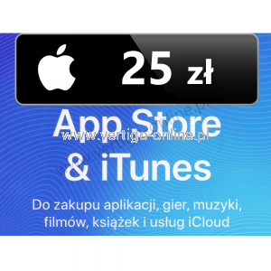 Apple Store iTunes 25 zł