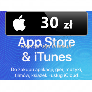 Apple Store iTunes 30 zł