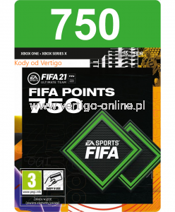 Fifa 21  Xbox One - 750 Fifa Points