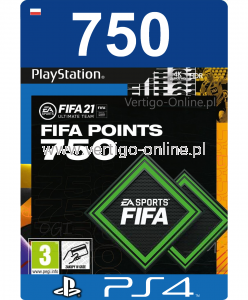 Fifa 21 PS4 - 750 Fifa Points