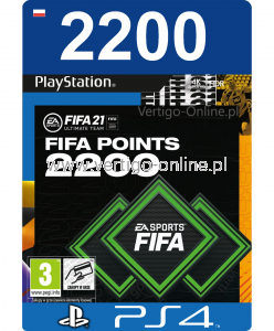 Fifa 21 PS4 - 2200 Fifa Points