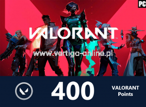 VALORANT - Valorant Points 400 - Polska