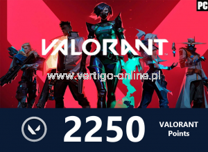 VALORANT - Valorant Points 2250 - Polska