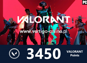 VALORANT - Valorant Points 3450 - Polska
