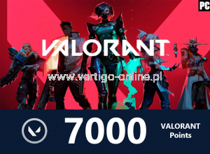 VALORANT - Valorant Points 7000 - Polska