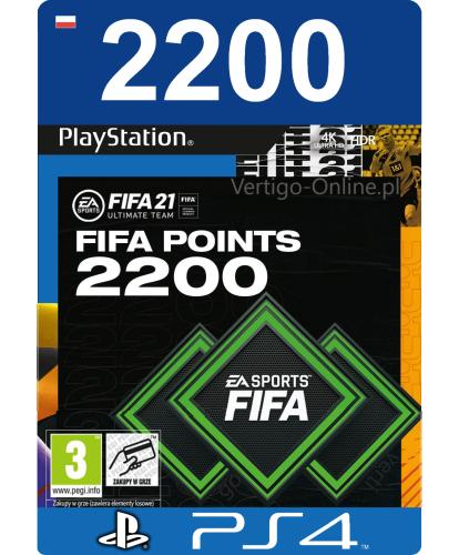 Fifa 21 PS4 - 2200 Fifa Points Vertigo Online